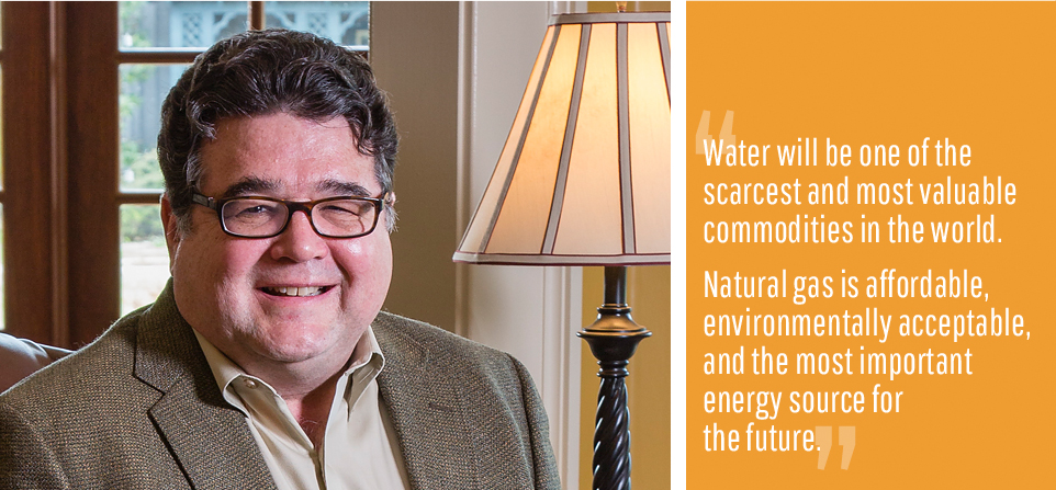 Chuck has been an active participant in more than 60 water, wastewater and gas rate cases.